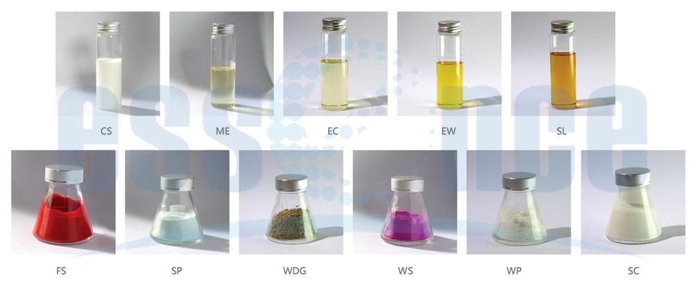 Tipos de Formulación de Pesticidas